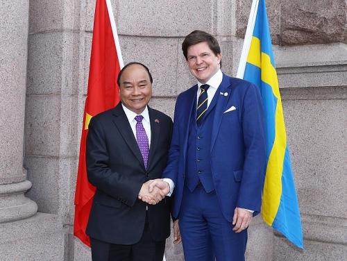 Việt Nam - Thụy Điển: Thúc đẩy quan hệ song phương phát triển sâu rộng hơn