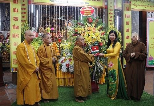 Giáo hội Phật giáo Việt Nam thành phố Hà Nội tổ chức Đại lễ Phật đản