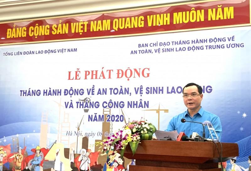 phat dong thang cong nhan va thang hanh dong ve an toan ve sinh lao dong nam 2020