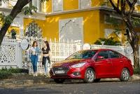 Hyundai Accent tiếp tục dẫn đầu về doanh số của TC MOTOR