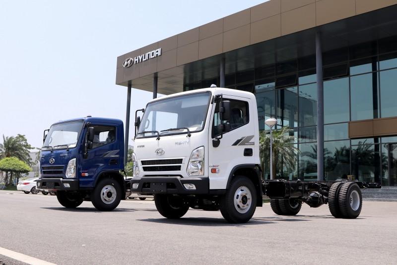 Mẫu xe tải trung Hyundai Mighty EX8 GT chính thức ra mắt tại Việt Nam