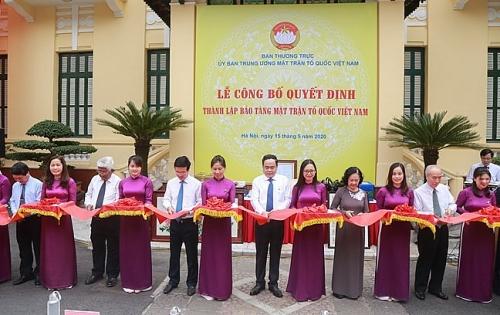 Thành lập Bảo tàng Mặt trận Tổ quốc Việt Nam