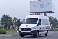 Tập đoàn Thành Công và Hyundai Motor tặng 10 xe Solati cứu thương cho các cơ sở y tế