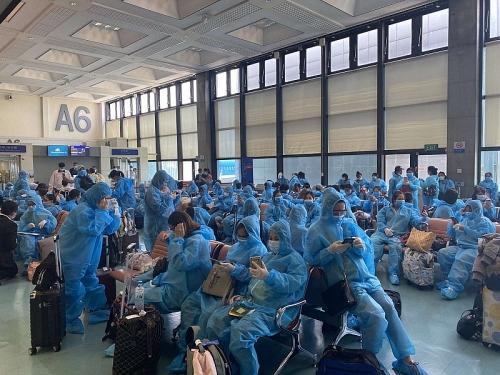 Hơn 340 công dân Việt Nam từ Đài Loan (Trung Quốc) đã về nước an toàn