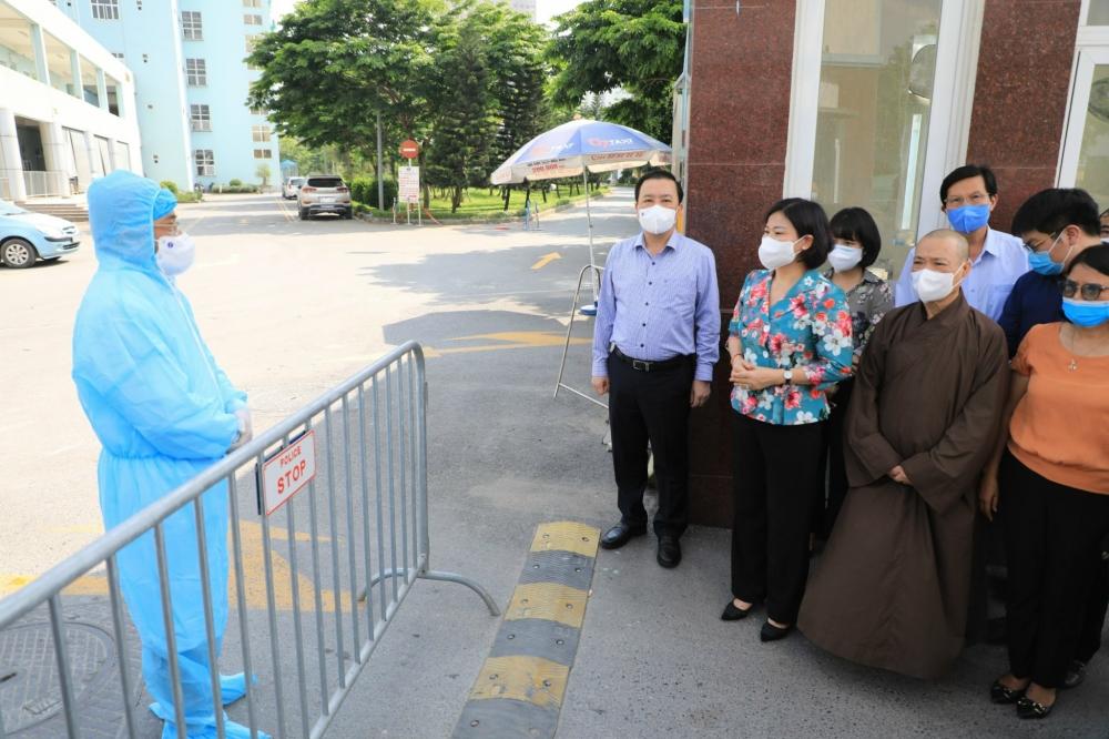 Thành phố sẽ hỗ trợ hết sức để Bệnh viện K thực hiện tốt nhiệm vụ cách ly, đẩy lùi dịch bệnh