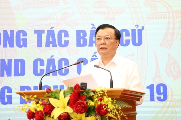 Bí thư Thành ủy Hà Nội Đinh Tiến Dũng: Đồng bộ các giải pháp, chúng ta sẽ kiểm soát tốt dịch bệnh
