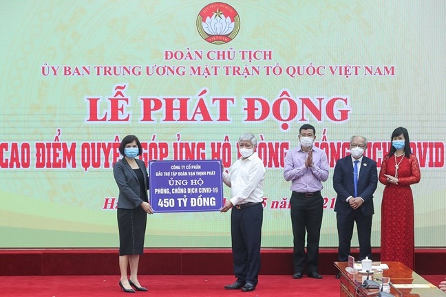 Chủ tịch nước Nguyễn Xuân Phúc kêu gọi nhân dân tích cực ủng hộ công tác phòng, chống dịch