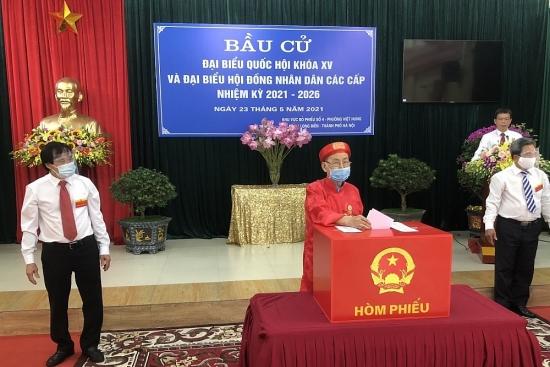 Công bố danh sách 35 người trúng cử đại biểu Hội đồng nhân dân quận Long Biên khóa IV