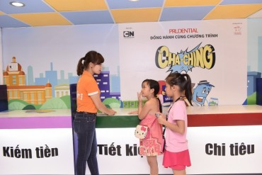 Khởi động Chương trình giáo dục quản lý tài chính Cha-Ching