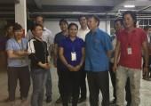 Lãnh đạo Tổng Liên đoàn thăm, động viên công nhân PouYuen Việt Nam
