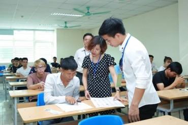 Lao động chen chân tham dự kỳ thi tiếng Hàn năm 2018