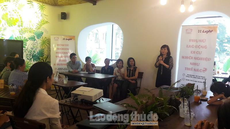 Tạo điều kiện hỗ trợ phụ nữ lao động di cư khởi nghiệp