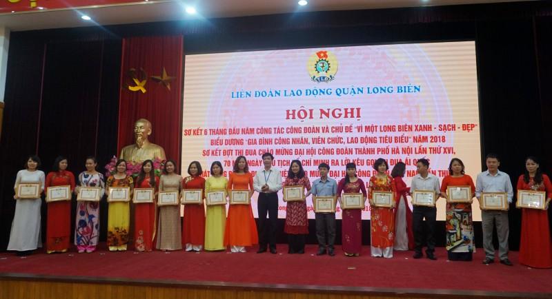 LĐLĐ quận Long Biên phát động đợt thi đua cao điểm trong CNVCLĐ