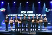 Tập đoàn Viettel vinh danh 8 tập thể, 8 cá nhân xuất sắc toàn cầu