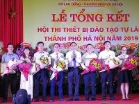 19 cơ sở giáo dục nghề nghiệp tham dự Hội thi thiết bị đào tạo tự làm
