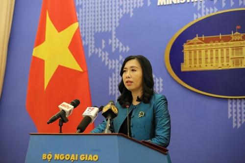 Người Phát ngôn Bộ Ngoại giao Việt Nam nói gì về tình hình Biển Đông