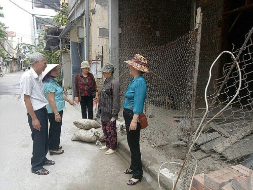 Phường Việt Hưng: Tăng cường kiểm tra, xử lý, duy trì trật tự trên địa bàn