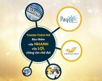 Sun Life Việt Nam triển khai thêm hai kênh thu phí mới
