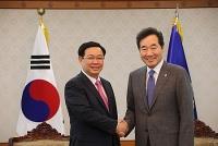 Đề nghị Hàn Quốc tạo thuận lợi nhập khẩu hàng nông thủy hải sản của Việt Nam