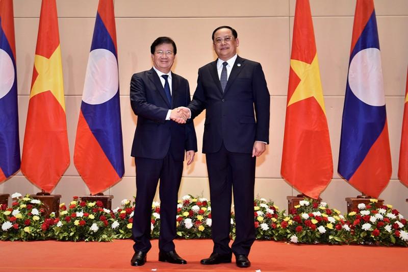 Thúc đẩy quan hệ hữu nghị truyền thống, đoàn kết đặc biệt và hợp tác toàn diện với Lào