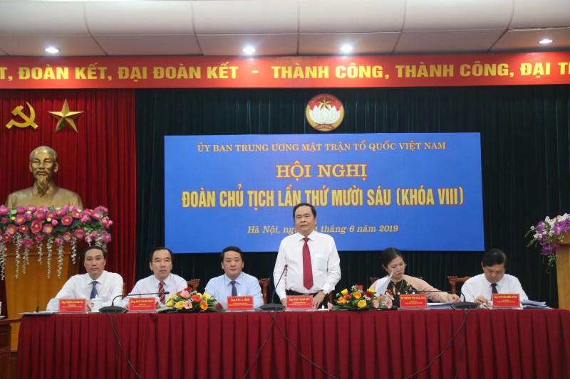 Đại hội Mặt trận Tổ quốc Việt Nam cấp tỉnh sẽ hoàn thành trong tháng 7/2019