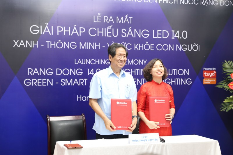 Rạng Đông ra mắt Giải pháp chiếu sáng xanh, thông minh, vì sức khỏe con người