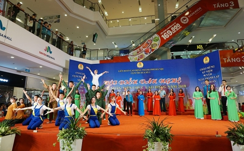 Tái hiện truyền thống hào hùng của Công đoàn Việt Nam qua các chặng đường lịch sử