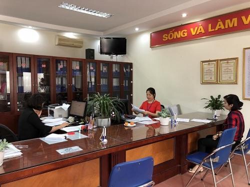 Tỷ lệ hồ sơ giải quyết sớm trước thời hạn tại phường Việt Hưng đạt 80%