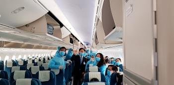 Việt Nam thực hiện nhiều chuyến bay đón công dân về nước tránh dịch