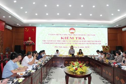 Hà Nội đã giám sát thực hiện gói an sinh xã hội 62.000 tỷ đồng đúng quy định
