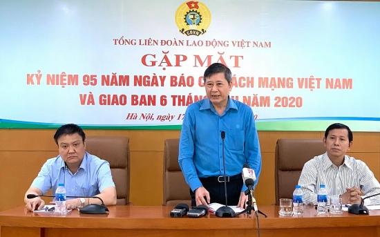Công đoàn Việt Nam chi quỹ dự phòng hỗ trợ đoàn viên, người lao động