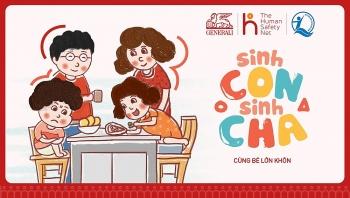 """Ra mắt chương trình giáo dục cộng đồng mang tên """"Sinh con, Sinh cha"""""""