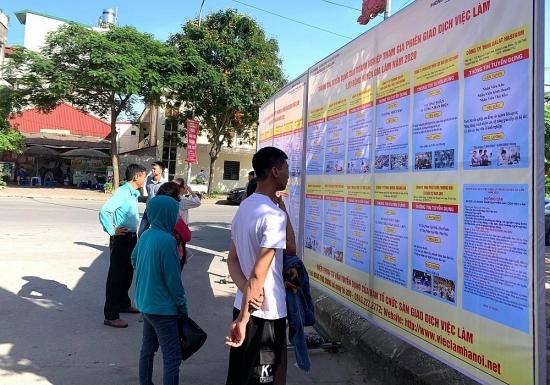 Phiên giao dịch việc làm huyện Gia Lâm: Hơn 800 cơ hội việc làm dành cho ứng viên