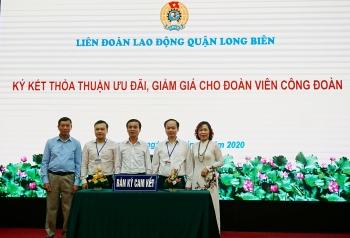 Thêm sản phẩm được bán giá ưu đãi cho đoàn viên công đoàn quận Long Biên