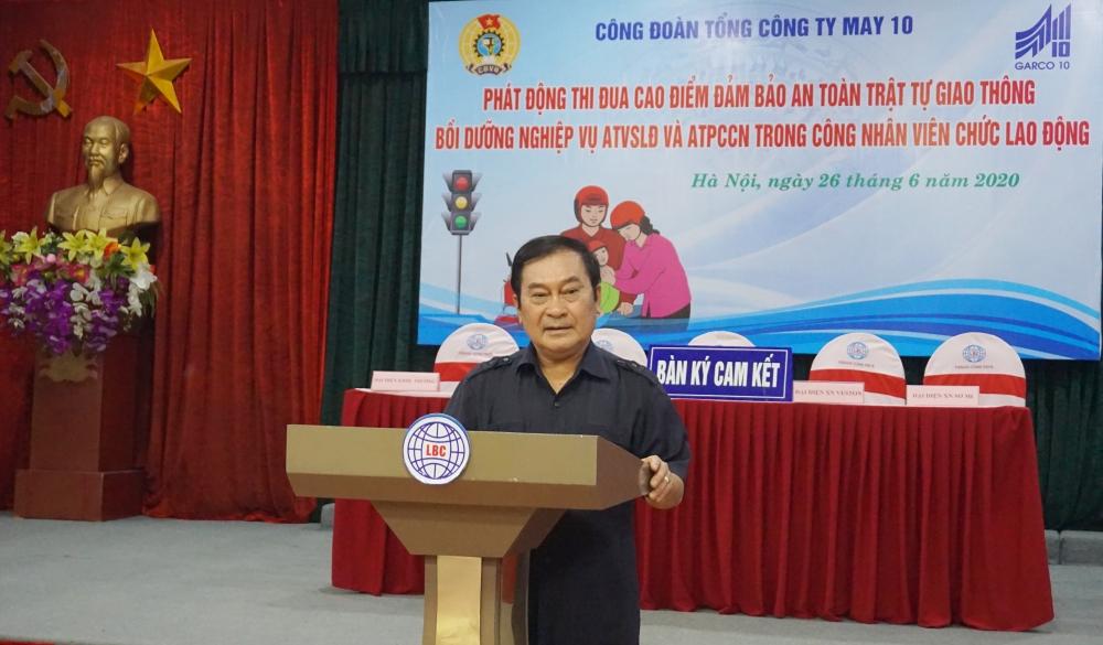 tap huan ve an toan lao dong phong chong chay no cho doan vien to ng co ng ty may 10