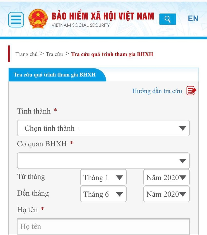 lam the nao de biet cong ty da dong bao hiem xa hoi cho nguoi lao dong