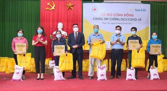 Sun Life Việt Nam đóng góp hơn 1,2 tỷ đồng cho công tác phòng, chống dịch Covid-19
