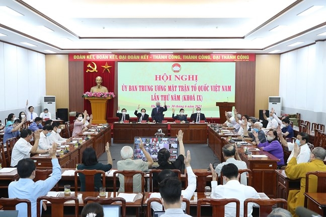 Hiệp thương cử ông Lê Tiến Châu giữ chức Phó Chủ tịch - Tổng Thư ký Ủy ban Trung ương Mặt trận Tổ quốc Việt Nam