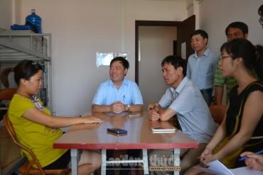Hội đồng tiền lương Quốc gia thị sát đời sống công nhân