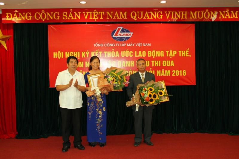 Lilama Việt Nam tuyên dương lao động giỏi, sáng tạo