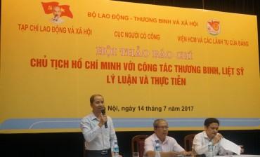 Chủ tịch Hồ Chí Minh với công tác thương binh, liệt sĩ