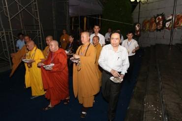 Đại lễ cầu siêu cho các anh hùng liệt sĩ tại Nghĩa trang quốc tế Việt - Lào