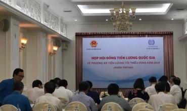 Tổng LĐLĐ Việt Nam đề nghị chưa chốt mức tăng lương tối thiểu