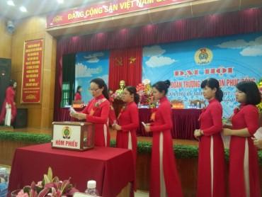 Trường Mầm non Phúc Đồng tổ chức Đại hội Công đoàn điểm