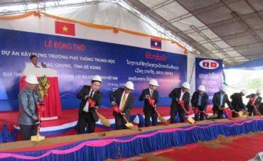BIDV tài trợ kinh phí xây tặng trường học tại CHDCND Lào