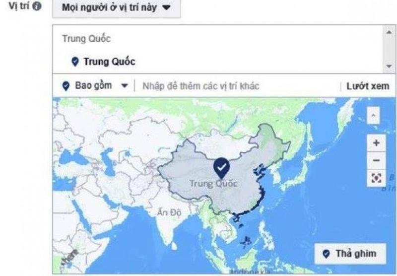 Facebook khẳng định không hiển thị 2 quần đảo Hoàng Sa và Trường Sa thuộc Trung Quốc
