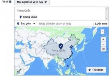 Facebook giải thích việc hiển thị Hoàng Sa, Trường Sa là của Trung Quốc