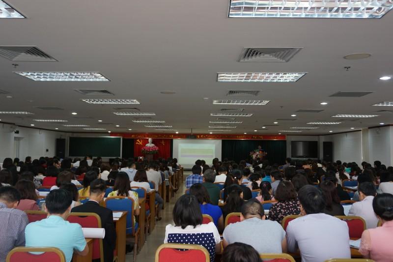 LĐLĐ quận Long Biên: Kết nạp mới gần 600 đoàn viên công đoàn
