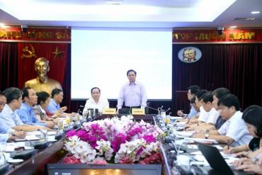 Ban Tổ chức Trung ương làm việc với Đảng đoàn Mặt trận Tổ quốc Việt Nam