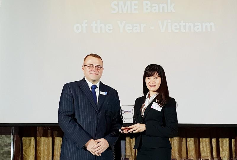 BIDV được vinh danh Ngân hàng SME tốt nhất Việt Nam 2018
